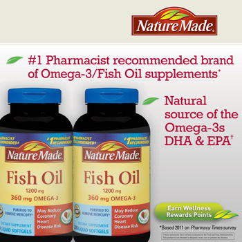 FISH OIL GNC 360V