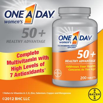 ONE A DAY NU 50+ 65v