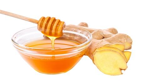 Gừng và mật ong chữa viêm họng hạt