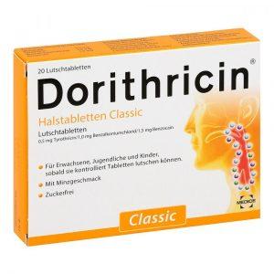 Dorithricin Mentol 20x