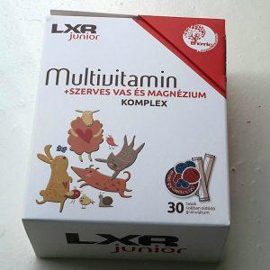 LXR Junior Multivitamin Komplex 30x