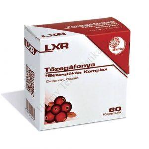 LXR Cranberry + Glucan Komplex 60x
