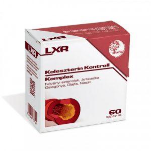 LXR Colesterol Controll Komplex 60x